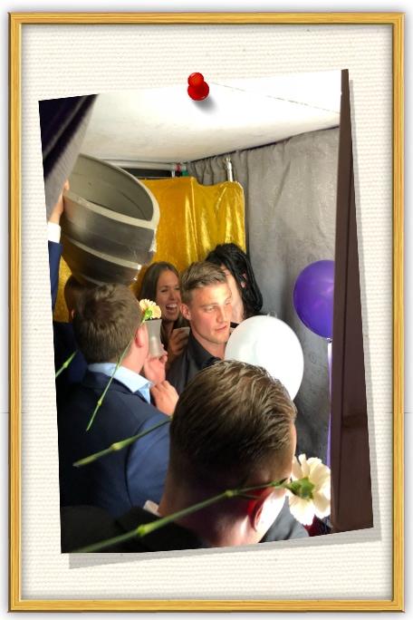 Photobooth bruiloft en deze is hufterproof