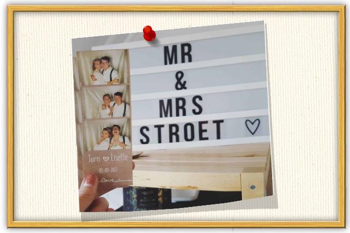 Jorn en lisa gingen je voor met een photobooth bruiloft