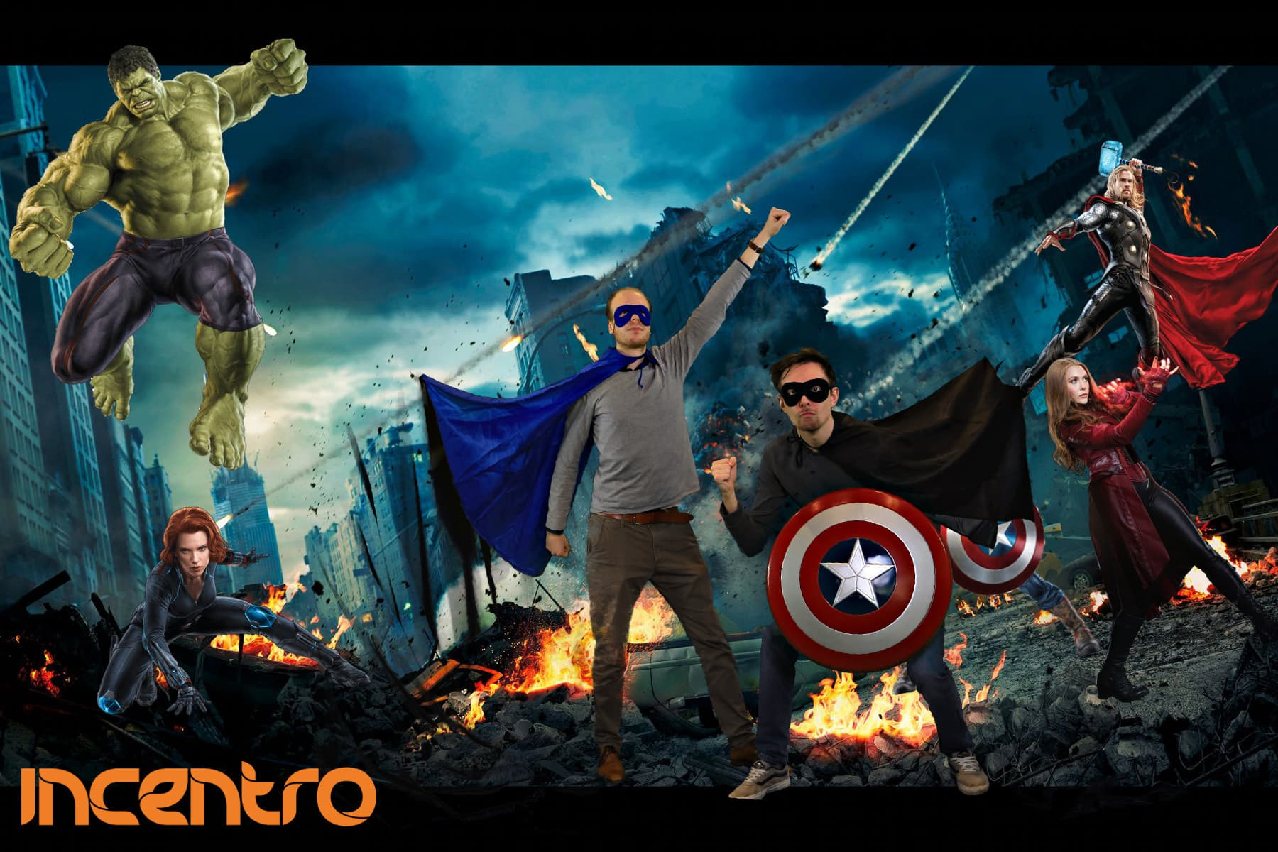 thema marvel fotografie greenscreen huren