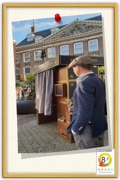 photobooth huren bij the Grand Hotel