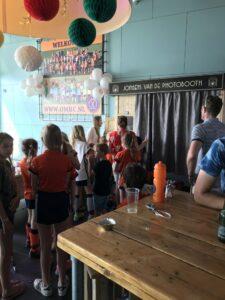 Ook bij OMHC.nl wilde een photobooth voor de kinderen